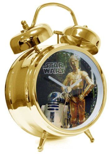 Star Wars Kinderwecker R2D2 C3PO Analog